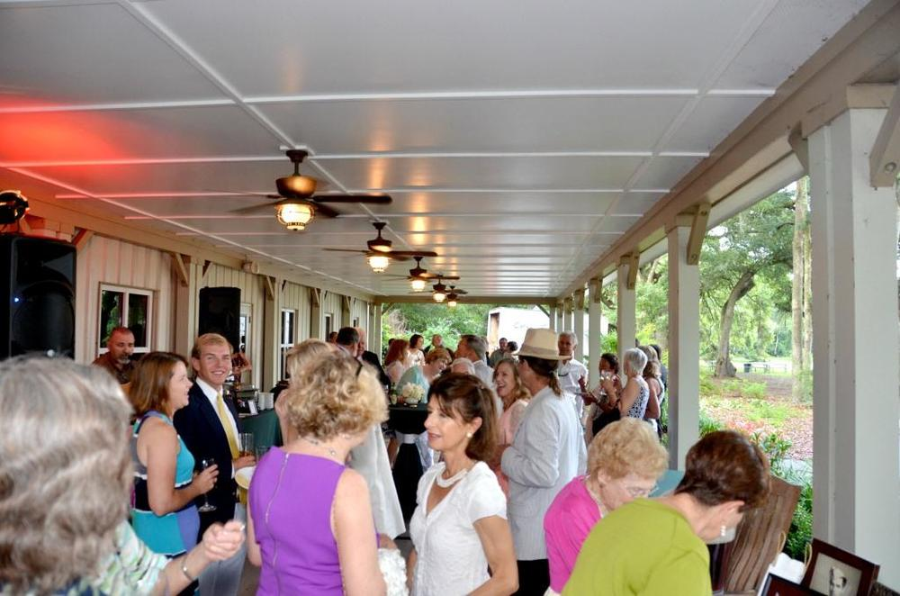 Corporate Event on the Front Porch