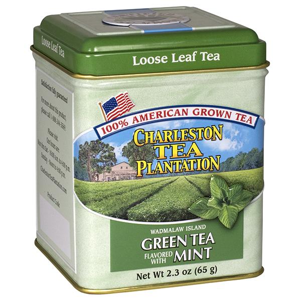 Island Green Tea with MInt Tin