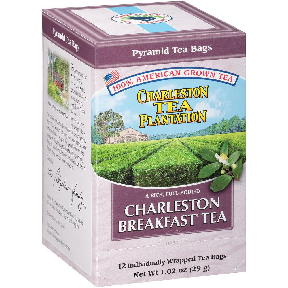 Charleston Breakfast Pyramid Teabags