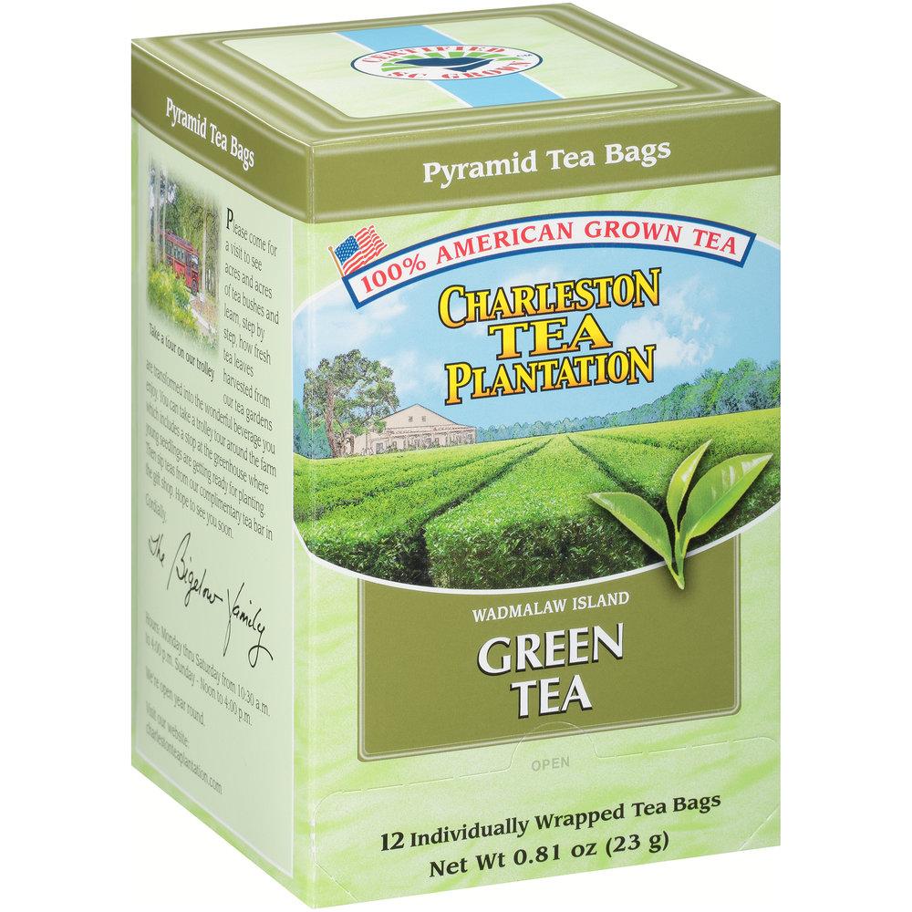 Island Green Pyramid Teabags
