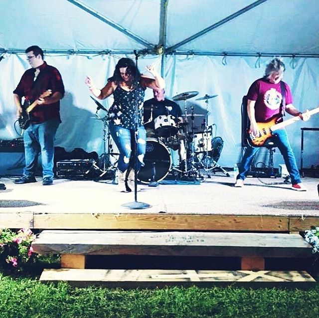 A little fun from the Brooklyn fair last night! Thanks everyone who came out! #countrymusic #fairseason #musician #musiciansofinstagram #countryband #coverband #dancing #lovewhatyoudo