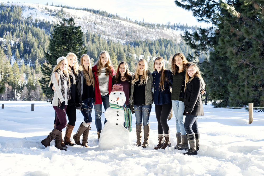 Snow minis… - an exclusive opportunity only for Senior Squad!