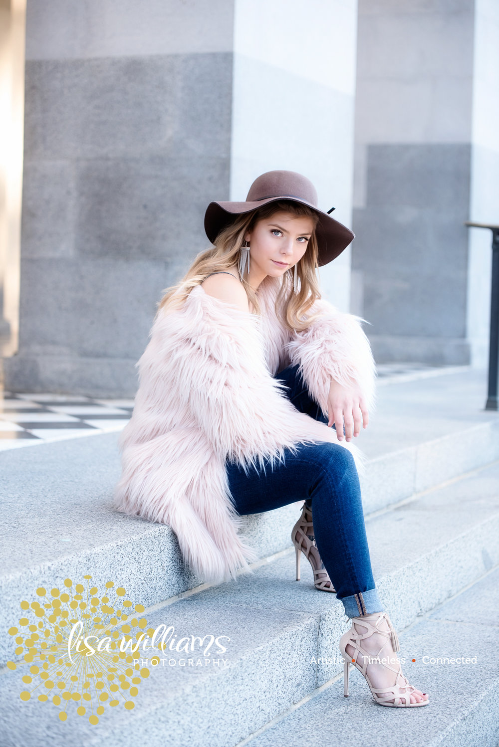 Magazine Shoot… - High Fashion was our theme this year and we shot at the State Capitol!