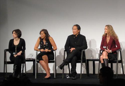 Joanne heyman, donna karen, Rodney yee, & Colleen saidman urban zen foundation