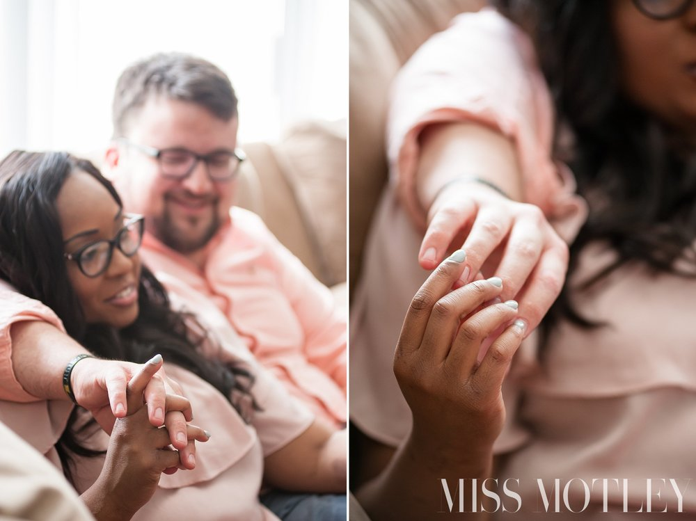 I just love when he holds my hand and how much bigger than mine they are. I feel like my hand was made to perfectly fit inside of his… We were destined to be together. ~RaSheila