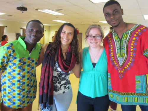 Fellows from Ghana, Israel and Canada at the 2014 Convening