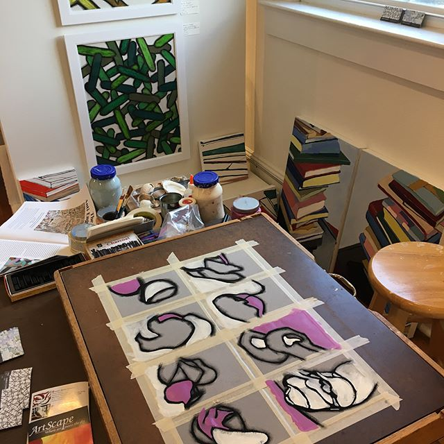 @galleryflatrock #artistsexposed #hendersonvillencart #hendersonvillenc