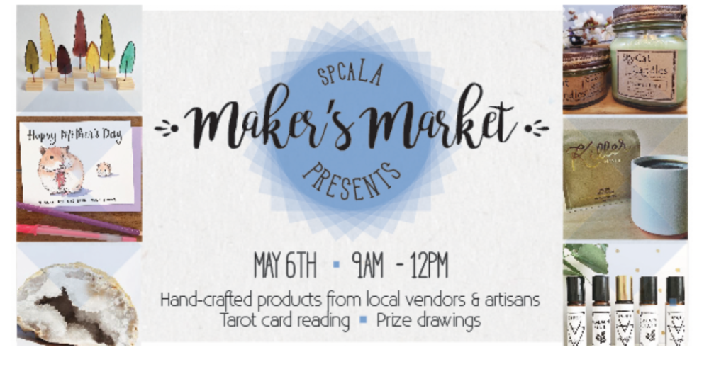 For more information visit: https://spcala.com/event/makers-market-at-the-village/