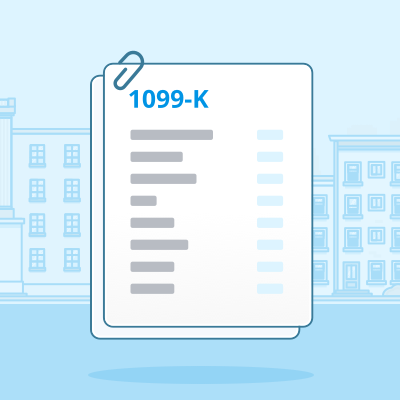 1099-K   This form reports gross transactions made on your behalf.   Learn more   .