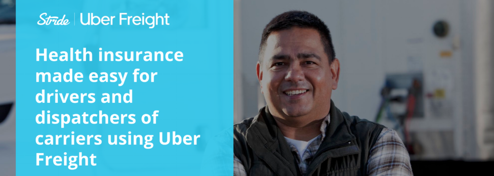 announcing stride for uber freight users