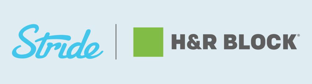 stride h&r block taxes 1099