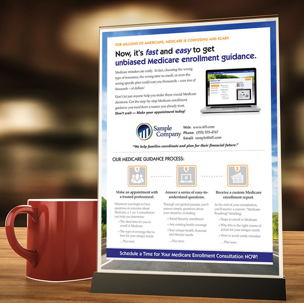 suggestions for using your custom medicare sales flyers i65