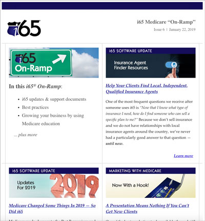 To view past issue of On-Ramp, please scroll down for the issues archive.