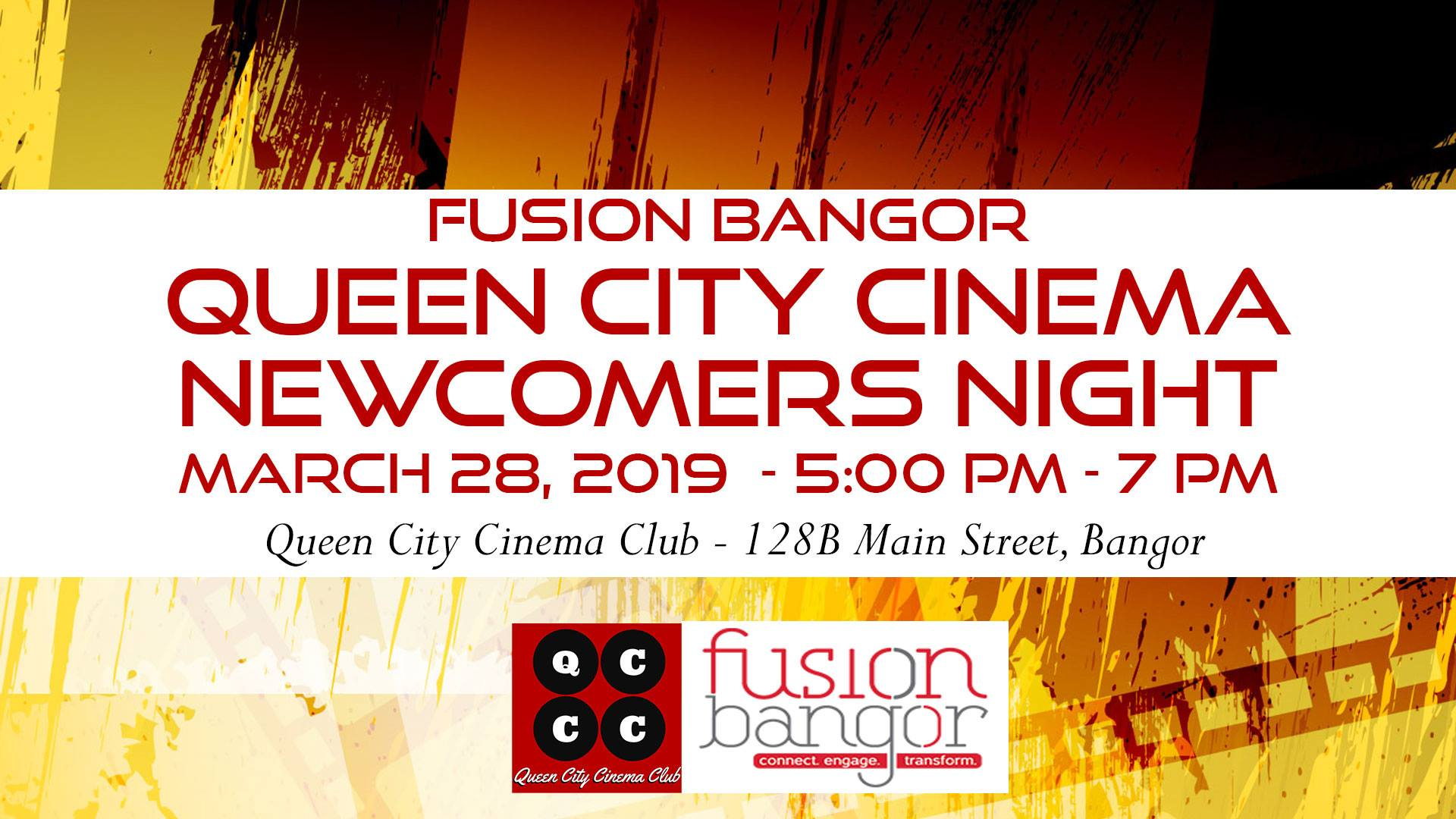 Queen City Cinema Club Newcomers Night!