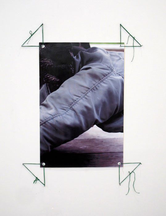 Hayley Silverman,Emily Shinada, Golem L.R. CERTAIN UNIVERSAL LOVE , 2012,archival inkjet print,47 x 33.5 in
