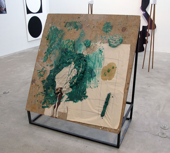 Win McCarthy,  Hot Carl , 2011, mixed media, 53 x 48 x 25 in