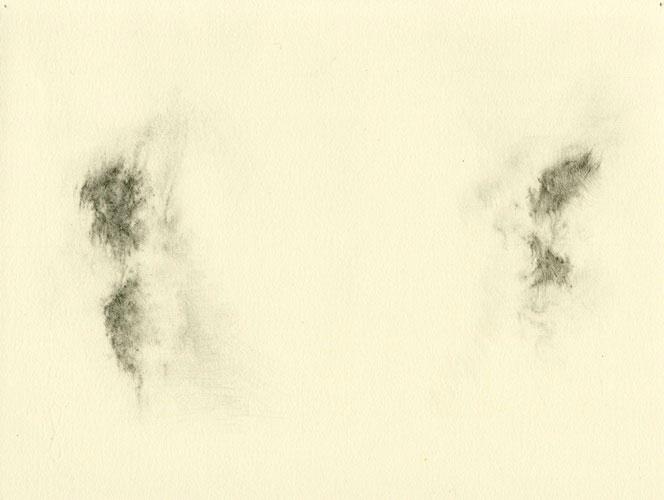 Travis Head, Couple , 2008,graphite on paper,8.25 x 10.75 in