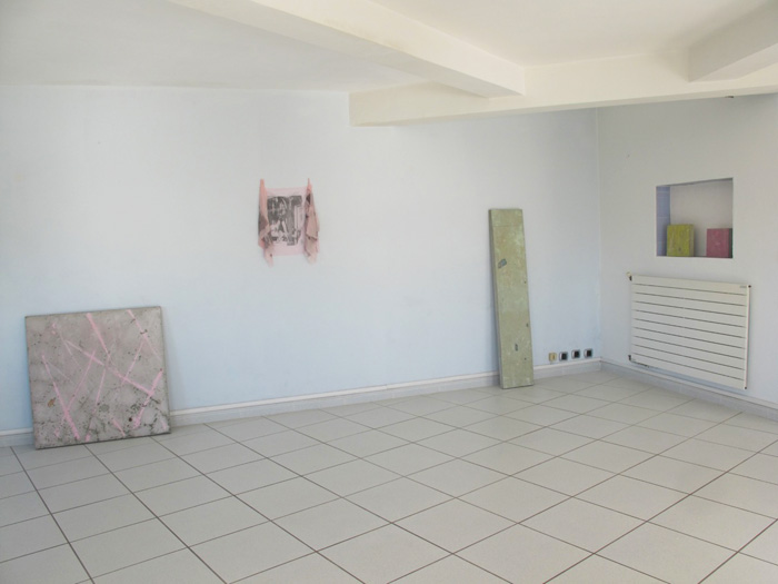 Installation view,  Davina Semo and Servane Mary , STL, Marseille, 2012