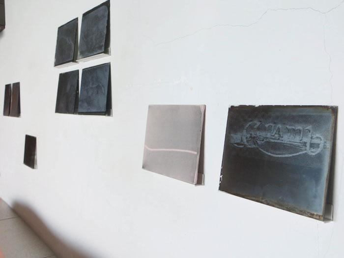 Installation view,  Davina Semo and Servane Mary , STL, Marseille, 2012