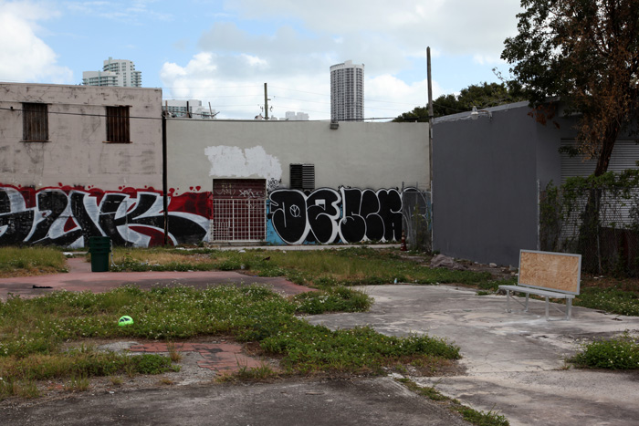 Installation view,  Kyle Thurman , Miami, 2012