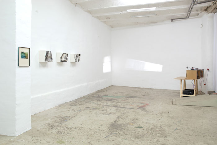 Installation view,  Wire , STL, Dusseldorf, 2013