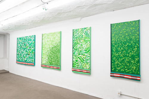 Installation view,  Seedless_Grapes_<3 , STL, NY, 2016