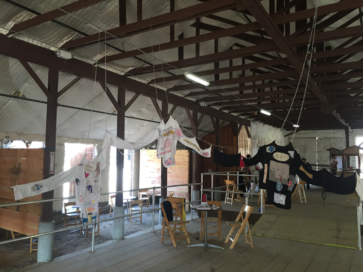 Installation view, Paramount Ranch, Los Angeles, 2016