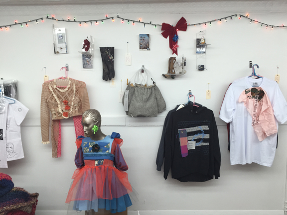 Installation view,  2015 Holiday Bazaar , STL, NY