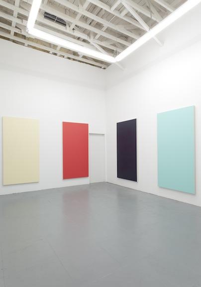 Installation view, Henry Codax , LA, 2014