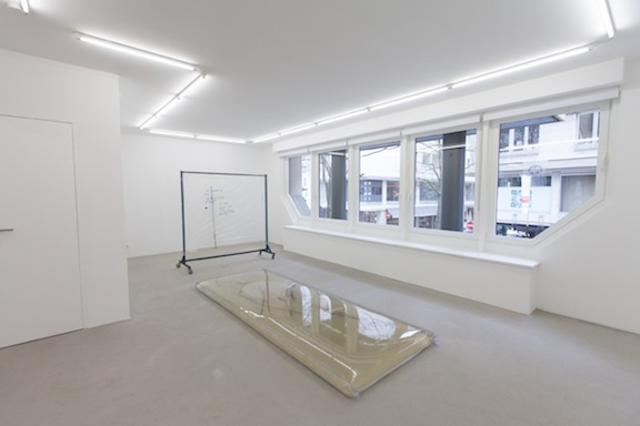 Installation view,  Sweet Potato , STL, Luxembourg, 2014
