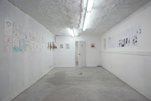 Installation view,  Pleh , STL, NY, 2014
