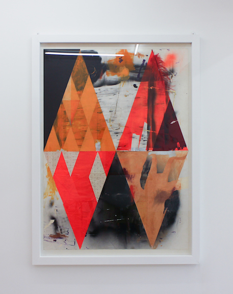 Paolo Gonzato,  Out of Stock , 2012, mixed media, 55.11 x 39.4 in