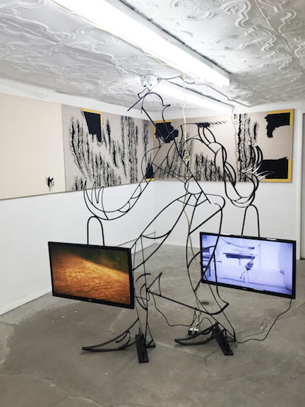 Installation view,  International Loner , STL, NY, 2015