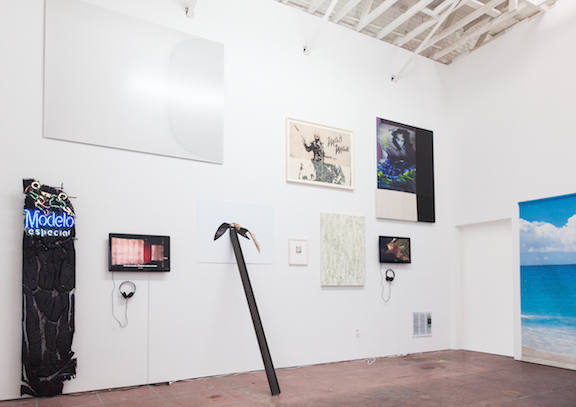 Installation view,  Scripted Spaces , Martos Gallery, Los Angeles, 2014