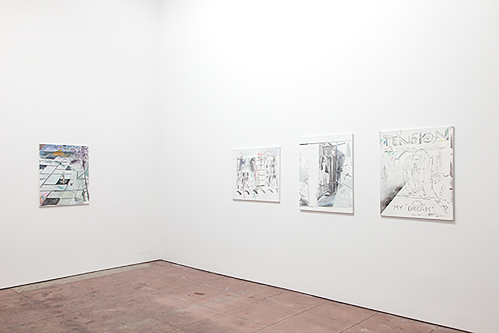 Installation view,  Pretty Papaya , Martos Gallery, Los Angeles, 2014