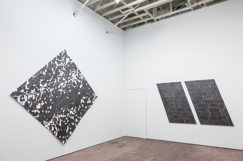 Installation view,  Label the Shapes , Martos Gallery, Los Angeles, 2015
