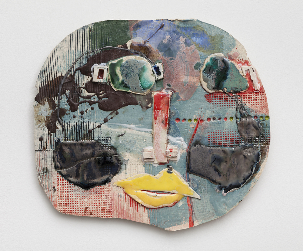 Jennie Jieun Lee,  Norma , 2015, glazed stoneware, 17 x 18 x 1 in