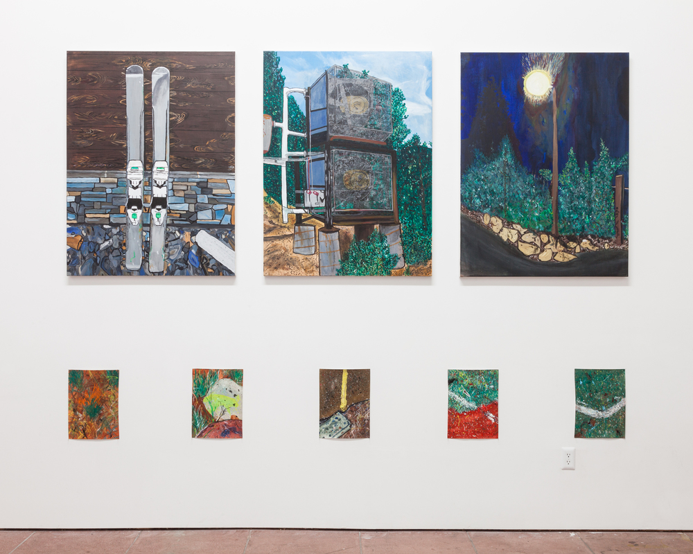 Installation view,  Incline Village , Martos Gallery, Los Angeles, 2016
