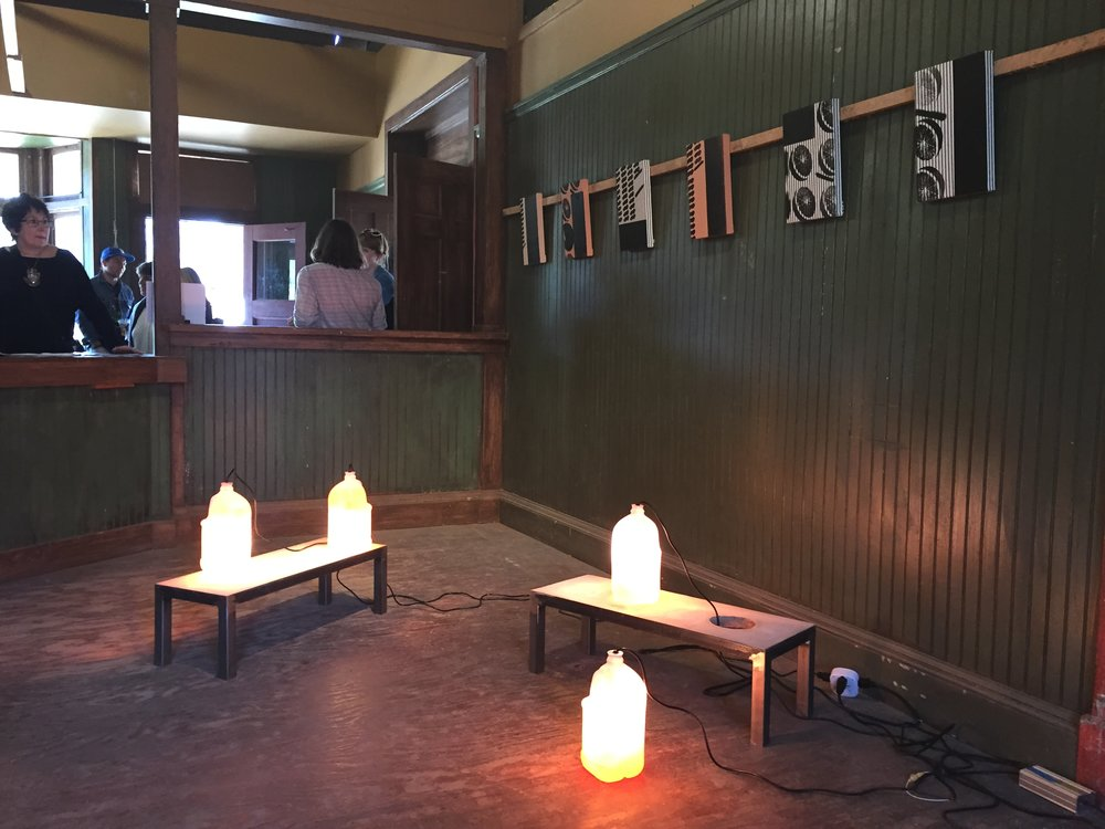 Installation view, Paramount Ranch, Los Angeles, 2015