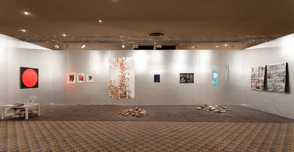 Installation view, NADA, Miami Beach, 2013