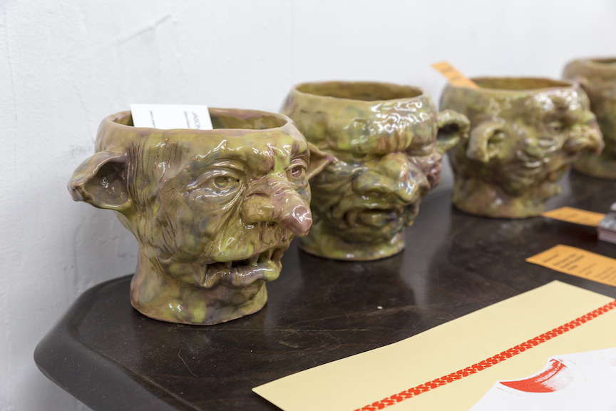 Jason Lee Starin,  Goblin Mugs , STL, NY, 2016