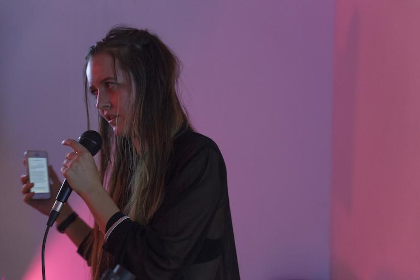 Rebecca Peel,  Performance , STL, NY 2016