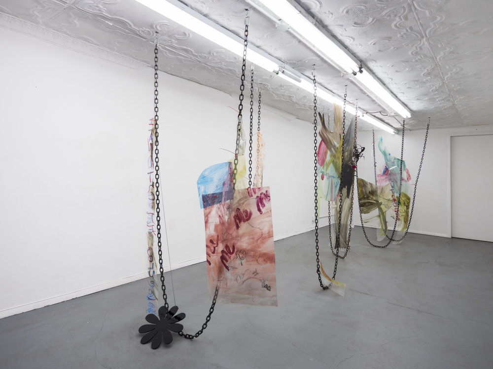 Installation view,  Carolyn,  STL, NY, 2017