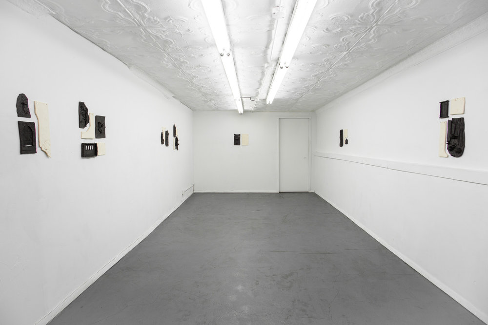 Installation view,  Manhattan,  STL, NY, 2017