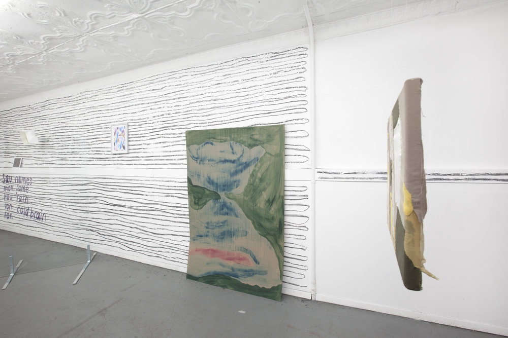 Installation view,  Kennen Sie Turner?,  STL, NY, 2017