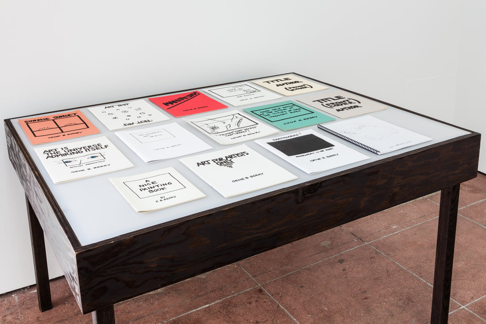 Gene Beery,  Artist's Books , xerox and offset printing on paper, 1961 – 2014