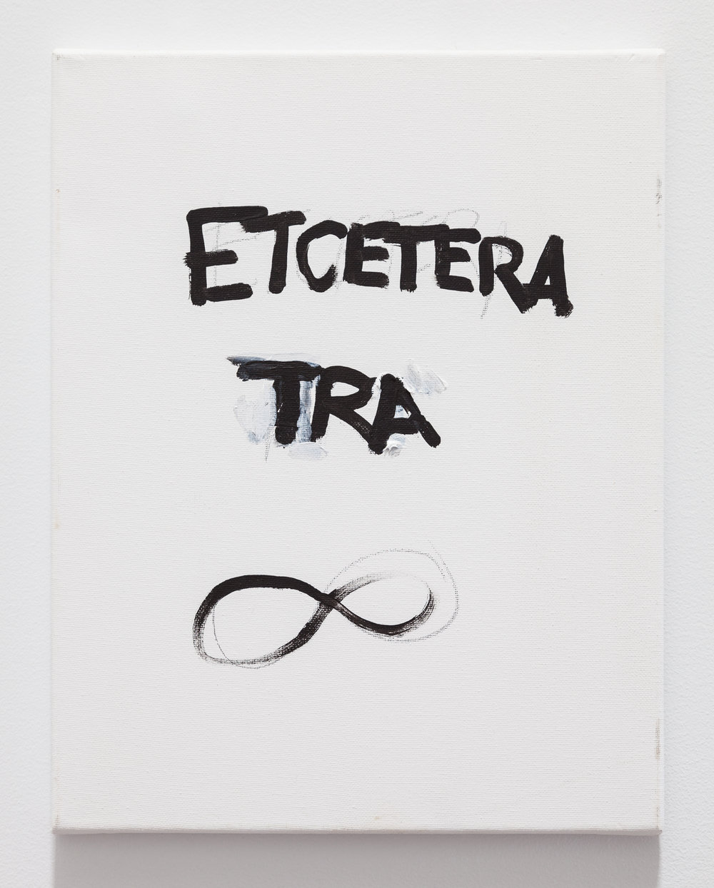 Gene Beery,  Et Cetera TRA , 2009, acrylic on canvas, 14 x 11 in