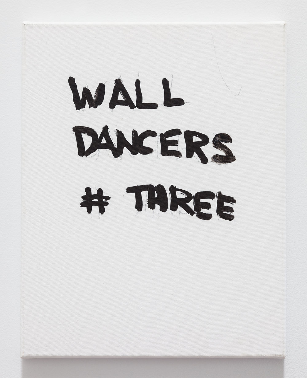 Gene Beery,  Wall Dancers , 2005, acrylic on canvas, 14 x 11 in