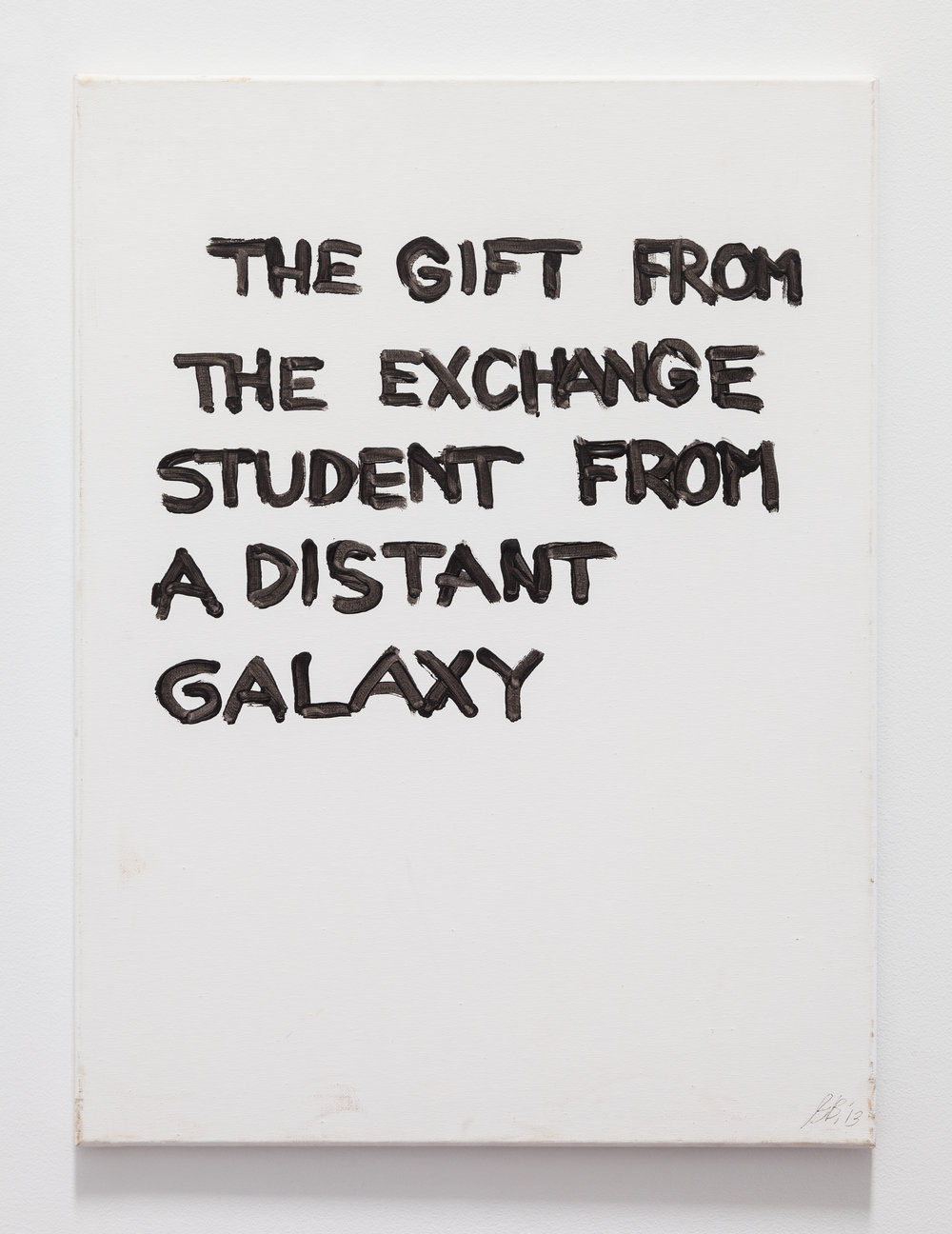 Gene Beery,  The Gift From the Student , 2006, acrylic on canvas, 24 x 18 in