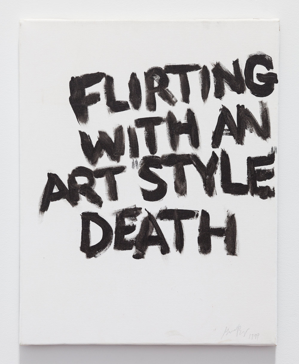 Gene Beery,  Flirting , 2009, acrylic on canvas, 20 x 16 in